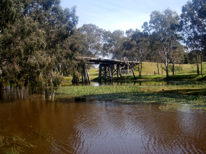 THE WANNON RIVER AT CAVENDISH