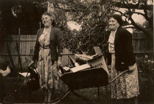 Grandma & Auntie Mat