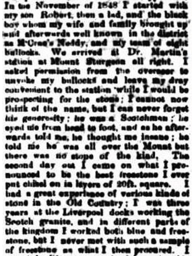 CORRESPONDENCE. (1877, January 23). Portland Guardian (Vic. : 1876-1953), p. 2 Edition: EVENINGS.. Retrieved May 26, 2011, from http://nla.gov.au/nla.news-article63337471