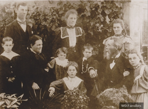 Richard & Elizabeth Diwell and family