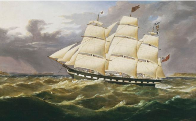 MARCO POLO BY THOMAS ROBERTSON (1819-1873). Image courtesy of the State Library of Victoria. http://handle.slv.vic.gov.au/10381/132534