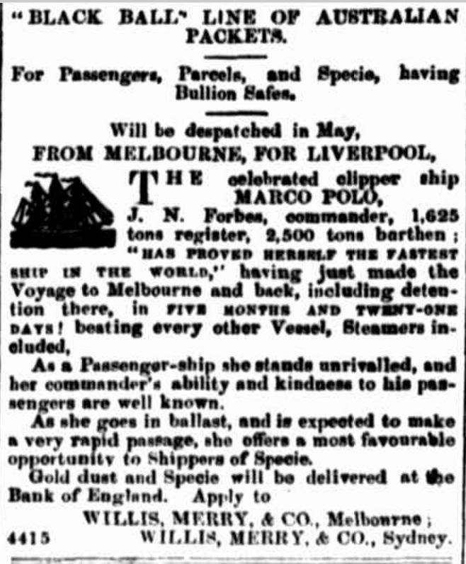 """Advertising"" Empire (Sydney, NSW : 1850 - 1875) 21 May 1853 http://nla.gov.au/nla.news-article61324418"