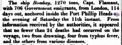 VICTORIA. (1852, December 24). South Australian Register (Adelaide, SA : 1839 - 1900), p. 4. Retrieved September 25, 2011, from http://nla.gov.au/nla.news-article38459768