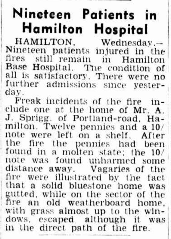"""Nineteen Patients in Hamilton Hospital"" The Age (Melbourne, Vic. : 1854 - 1954) 20 January 1944: ."