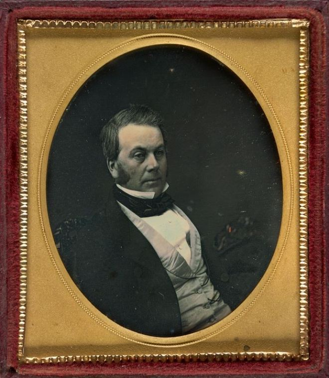 JAMES HENTY c1855.  Image Courtesy of the State Library of Victoria.  Image no. H83.158/2 http://handle.slv.vic.gov.au/10381/290239