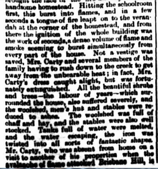 """ALONG MACARTHUR ROAD."" Hamilton Spectator (Vic. : 1870 - 1918) 9 February 1901 ."