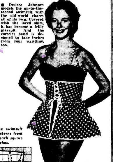 Woman's Page. (1956, January 17). The Argus (Melbourne, Vic. : 1848 - 1956), p. 9. Retrieved November 28, 2012, from http://nla.gov.au/nla.news-article72530649