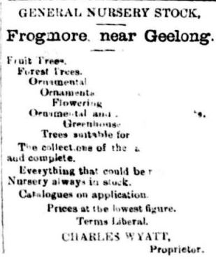 Advertising. (1876, July 21). Portland Guardian (Vic. : 1876 - 1953), p. 3 Edition: EVENINGS.. Retrieved March 12, 2013, from http://nla.gov.au/nla.news-article63316883