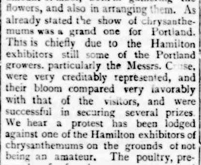 Portland Horticultural Society. (1896, May 1). Portland Guardian (Vic. : 1876 - 1953), p. 3 Edition: EVENING. Retrieved March 12, 2013, from http://nla.gov.au/nla.news-article63635528