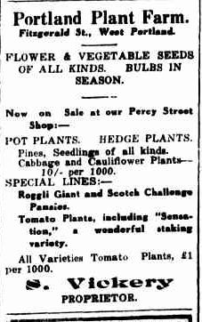 Advertising. (1936, July 30). Portland Guardian (Vic. : 1876 - 1953), p. 1 Edition: EVENING.. Retrieved March 12, 2013, from http://nla.gov.au/nla.news-article64273334