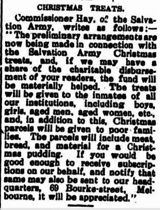 CHRISTMAS TREATS. (1920, December 9). Portland Guardian (Vic. : 1876 - 1953), p. 2 Edition: EVENING.. Retrieved December 12, 2012, from http://nla.gov.au/nla.news-article64022893