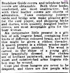 WOMAN'S REALM. (1923, December 18). The Argus (Melbourne, Vic. : 1848 - 1956), p. 14. Retrieved December 13, 2012, from http://nla.gov.au/nla.news-article2000447 MLA citation