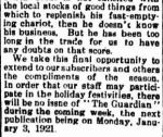 Portland Guardian. (1920, December 23). Portland Guardian (Vic. : 1876 - 1953), p. 2 Edition: EVENING.. Retrieved December 12, 2012, from http://nla.gov.au/nla.news-article64022977