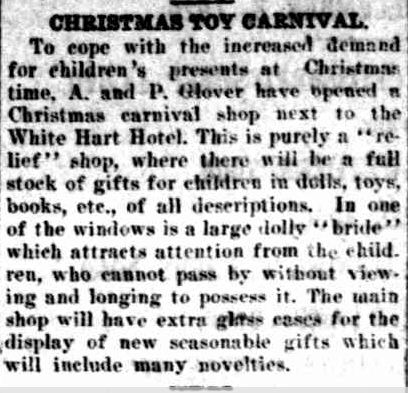 CHRISTMAS TOY CARNIVAL. (1926, November 26). The Horsham Times (Vic. : 1882 - 1954), p. 4. Retrieved December 12, 2012, from http://nla.gov.au/nla.news-article73017110