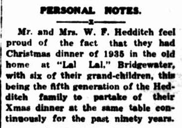 PERSONAL NOTES. (1936, January 6). Portland Guardian (Vic. : 1876 - 1953), p. 2 Edition: EVENING.. Retrieved December 16, 2012, from http://nla.gov.au/nla.news-article64271313