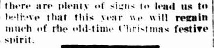 A Merrier Christmas. (1933, December 1). The Horsham Times (Vic. : 1882 - 1954), p. 4. Retrieved December 15, 2012, from http://nla.gov.au/nla.news-article72577244