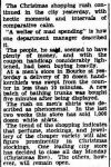 PEOPLE BUYING HEAVILY FOR CHRISTMAS. (1945, December 21). The Argus (Melbourne, Vic. : 1848 - 1956), p. 3. Retrieved December 19, 2012, from http://nla.gov.au/nla.news-article12159834