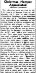 Christmas Hamper Appreciated. (1943, February 2). The Horsham Times (Vic. : 1882 - 1954), p. 1. Retrieved December 19, 2012, from http://nla.gov.au/nla.news-article73103694