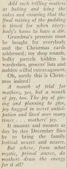 Editorial. (1949, December 3). The Australian Women's Weekly (1933 - 1982), p. 18. Retrieved December 20, 2012, from http://nla.gov.au/nla.news-article51594508
