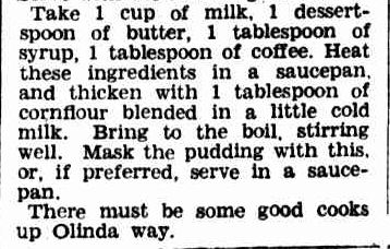 New Christmas Pudding Idea. (1944, November 21). The Argus (Melbourne, Vic. : 1848 - 1956), p. 9. Retrieved December 19, 2012, from http://nla.gov.au/nla.news-article11371169