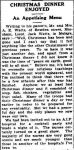 CHRISTMAS DINNER ENJOYí. (1942, January 16). The Horsham Times (Vic. : 1882 - 1954), p. 3. Retrieved December 18, 2012, from http://nla.gov.au/nla.news-article72698798