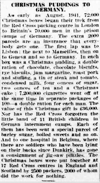 CHRISTMAS PUDDINGS TO GERMANY. (1942, January 20). The Horsham Times (Vic. : 1882 - 1954), p. 2. Retrieved December 19, 2012, from http://nla.gov.au/nla.news-article72698955