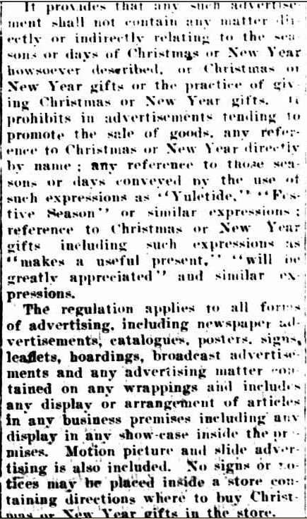 CHRISTMAS SHOPPING. (1942, November 27). The Horsham Times (Vic. : 1882 - 1954), p. 2. Retrieved December 19, 2012, from http://nla.gov.au/nla.news-article72706611