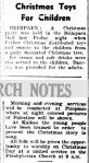 Christmas Toys For Children. (1950, December 22). The Horsham Times (Vic. : 1882 - 1954), p. 7. Retrieved December 21, 2012, from http://nla.gov.au/nla.news-article72763523