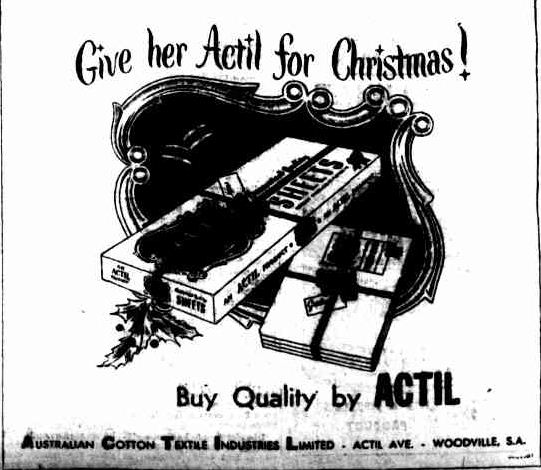 Advertising. (1954, December 17). The Horsham Times (Vic. : 1882 - 1954), p. 2. Retrieved December 21, 2012, from http://nla.gov.au/nla.news-article74796169