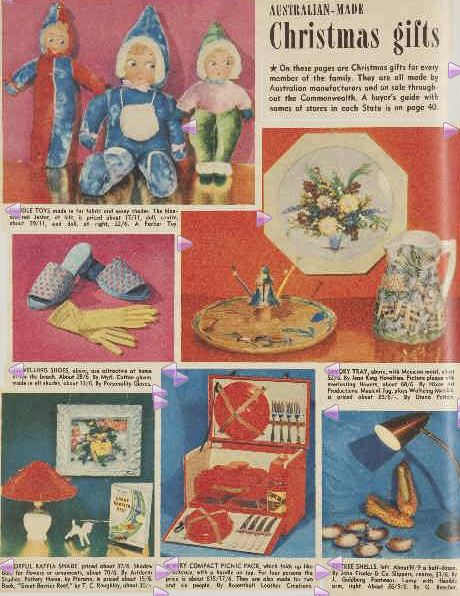 AUSTRALIAN-MADE Christmas gifts. (1951, December 5). The Australian Women's Weekly (1933 - 1982), p. 38. Retrieved December 21, 2012, from http://nla.gov.au/nla.news-article47808540