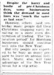 Christmas Rush Was Profitable. (1954, December 31). The Horsham Times (Vic. : 1882 - 1954), p. 1. Retrieved December 21, 2012, from http://nla.gov.au/nla.news-article74796586