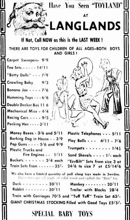 Advertising. (1951, December 21). The Horsham Times (Vic. : 1882 - 1954), p. 4. Retrieved December 21, 2012, from http://nla.gov.au/nla.news-article72798775