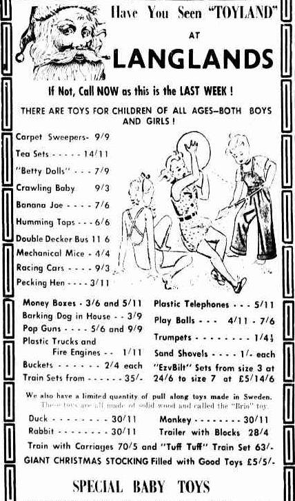 Advertising. (1951, December 21). The Horsham Times (Vic. : 1882 - 1954), p. 4. Retrieved December 21, 2012, from http://nla.gov.au/nla.news-article72798775