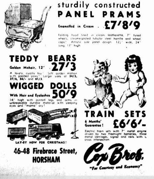 Advertising. (1953, November 11). The Horsham Times (Vic. : 1882 - 1954), p. 6. Retrieved December 21, 2012, from http://nla.gov.au/nla.news-article72774828