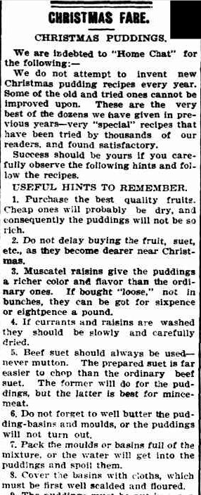 CHRISTMAS FARE. (1903, December 11). The Colac Herald (Vic. : 1875 - 1918), p. 7. Retrieved December 3, 2012, from http://nla.gov.au/nla.news-article87641338
