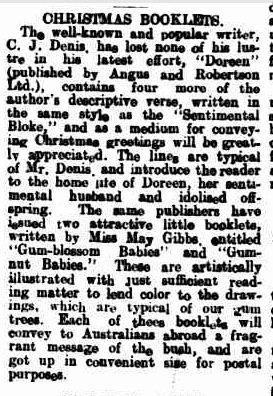 CHRISTMAS BOOKLETS. (1917, October 11). Warrnambool Standard (Vic. : 1914 - 1918), p. 8 Edition: DAILY.. Retrieved December 9, 2012, from http://nla.gov.au/nla.news-article73969439