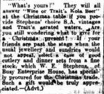 NOTES AND EVENTS. (1912, December 9). The Colac Herald (Vic. : 1875 - 1918), p. 2. Retrieved December 9, 2012, from http://nla.gov.au/nla.news-article87616255