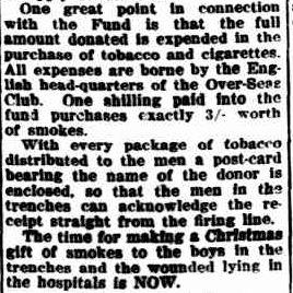 Poultry for Christmas. (1918, November 18). Port Fairy Gazette (Vic. : 1914 - 1918), p. 2 Edition: EVENING. Retrieved December 9, 2012, from http://nla.gov.au/nla.news-article91987945