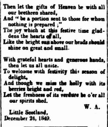 ORIGINAL POETRY. (1849, December 26). Geelong Advertiser (Vic. : 1847 - 1851), p. 2 Edition: MORNING. Retrieved December 24, 2012, from http://nla.gov.au/nla.news-article93137755