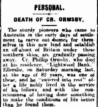 PERSONAL. (1918, January 17). Warrnambool Standard (Vic. : 1914 - 1918), p. 3 Edition: DAILY.. Retrieved January 26, 2013, from http://nla.gov.au/nla.news-article74043412