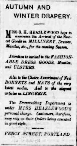 Advertising. (1884, May 17). Portland Guardian (Vic. : 1876 - 1953), p. 3 Edition: MORNING. Retrieved February 25, 2013, from http://nla.gov.au/nla.news-article63342665