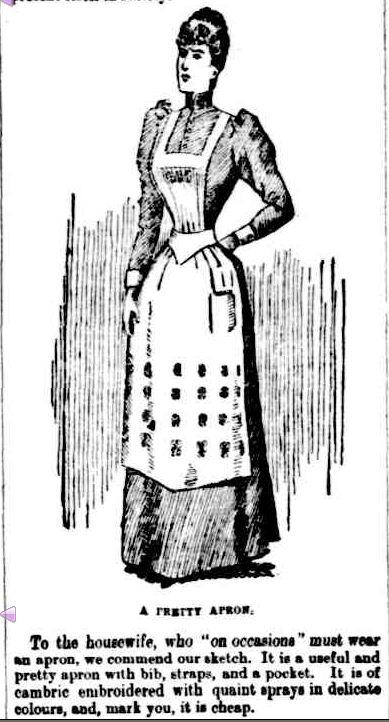 FASHION'S FRIVOLITIES. (1892, February 26). The Horsham Times (Vic. : 1882 - 1954), p. 2 Supplement: SUPPLEMENT TO The Horsham Times.. Retrieved February 25, 2013, from http://nla.gov.au/nla.news-article72722663