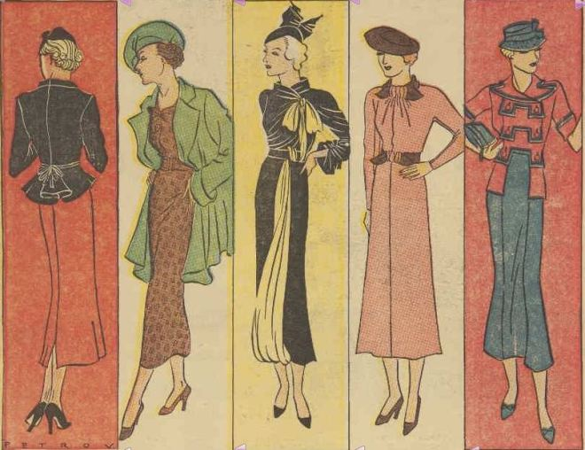 The Fashion Parade. (1936, February 22). The Australian Women's Weekly (1933 - 1982), p. 8. Retrieved February 27, 2013, from http://nla.gov.au/nla.news-article46942701