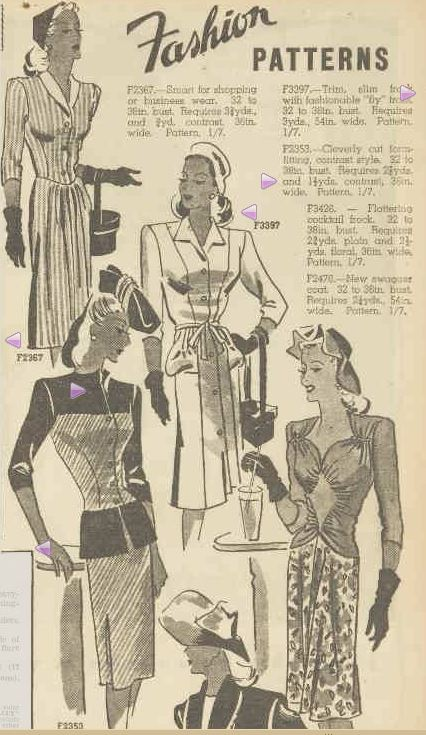 Fashion PATTERNS. (1945, April 14). The Australian Women's Weekly (1933 - 1982), p. 21. Retrieved February 27, 2013, from http://nla.gov.au/nla.news-article47118096