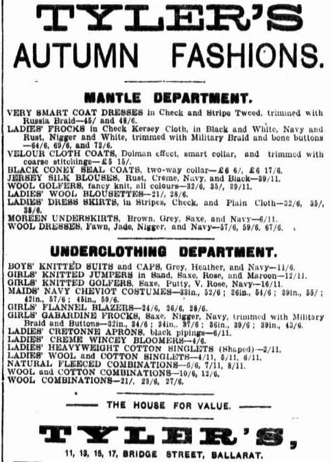 Advertising. (1922, April 21). Border Watch (Mount Gambier, SA : 1861 - 1954), p. 4. Retrieved February 28, 2013, from http://nla.gov.au/nla.news-article77674135