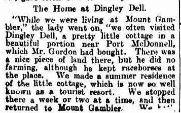 ADAM LINDSAY GORDON. (1912, March 30). Chronicle (Adelaide, SA : 1895 - 1954), p. 39. Retrieved February 8, 2013, from http://nla.gov.au/nla.news-article88693399