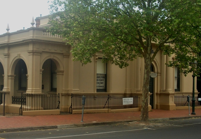 HAMILTON MECHANICS INSTITUTE