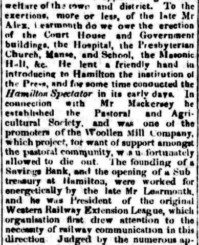 OBITUARY. (1874, February 24). Portland Guardian and Normanby General Advertiser (Vic. : 1842 - 1876), p. 6 Edition: EVENING. Retrieved February 20, 2013, from http://nla.gov.au/nla.news-article64743791