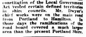 Obituary. (1930, March 20). Portland Guardian (Vic. : 1876 - 1953), p. 2 Edition: EVENING. Retrieved February 13, 2013, from http://nla.gov.au/nla.news-article64291851