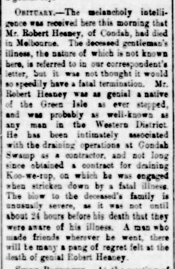 Infections Diseases in Animals. (1890, August 20). Portland Guardian (Vic. : 1876 - 1953), p. 2 Edition: EVENING. Retrieved February 26, 2013, from http://nla.gov.au/nla.news-article63629135